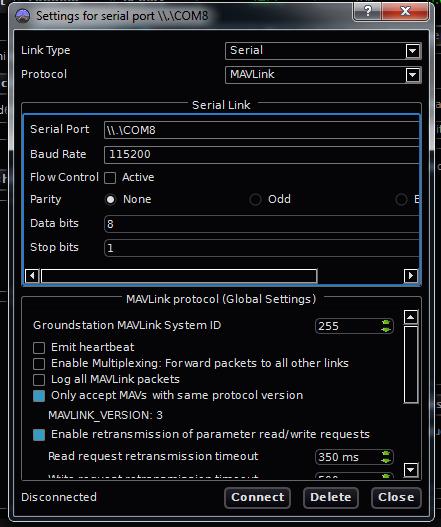 Ground Control Station for PC | AutoQuad