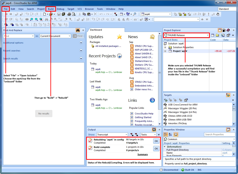 Compiling AQ Firmware   AutoQuad