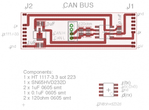 Can bus adapter