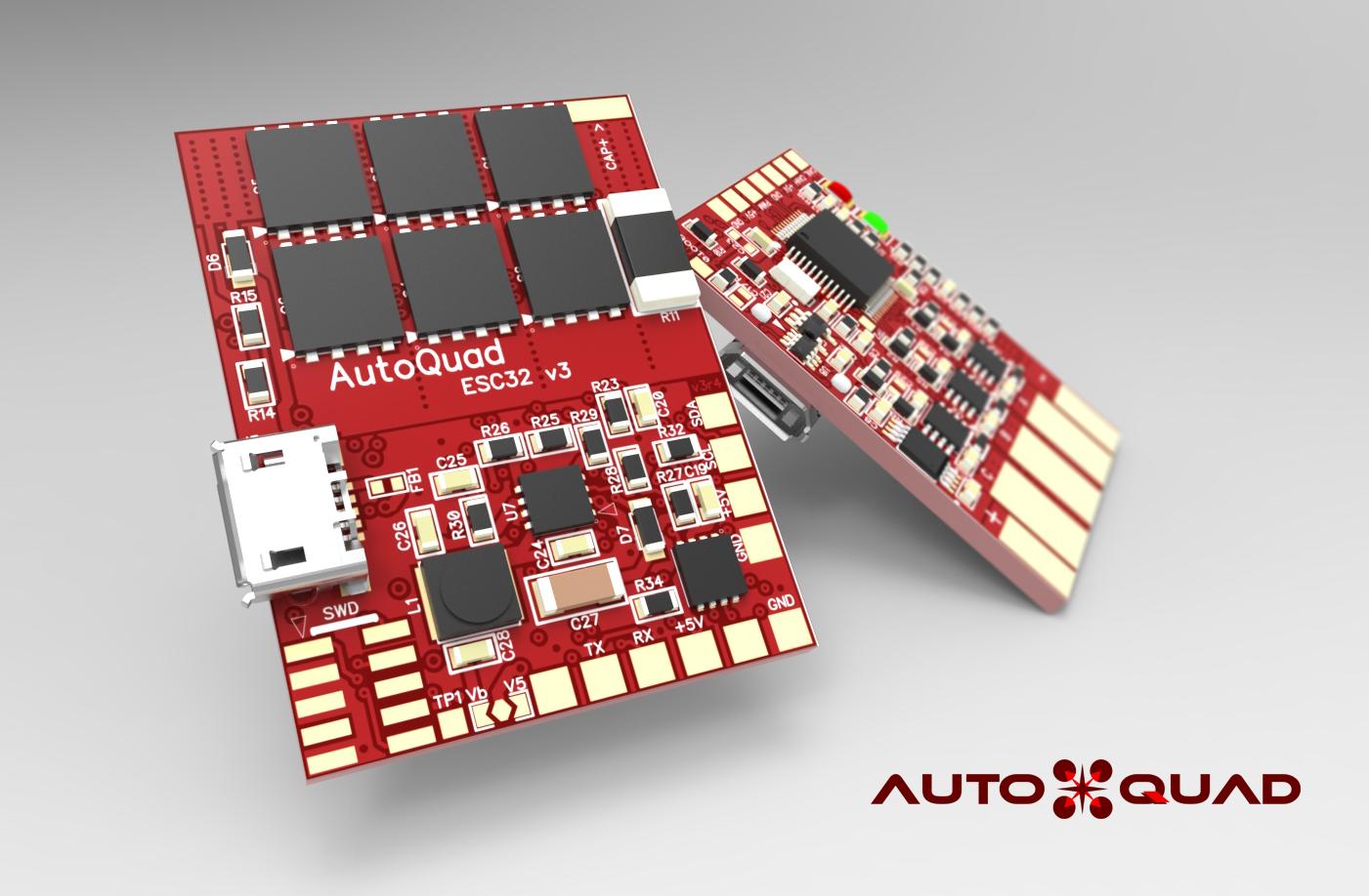 AutoQuad ESC32 V3 electronic Speed Controller